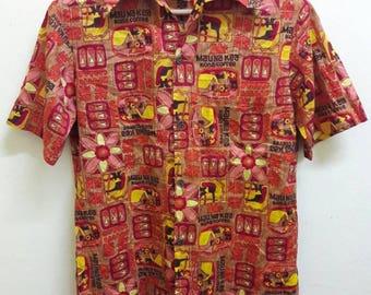 60's vintage KONA COFFEE shirt made by hawaiian incentive services