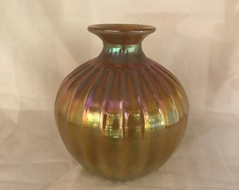 Art Glass Vase.  Signed and dated  (CGP-0596)