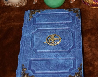 Elegant Mocking Jay Hunger Games Journal Sketchbook Tome Grimoire Larp Cosplay Wicca