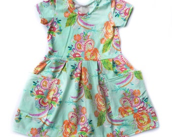 ADD-ON listing for oversized pockets on the Sydney Print Pleated Dress