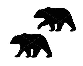 Bear Svg Bear cut file Mama Bear Svg Vector cut file cutting file for Cricut Explore Silhouette Cameo dxf files svg files eps