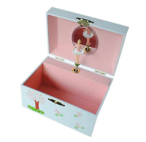 Personalized musical jewelry box african american ballerina personalized musical jewelry box african american ballerina musical pink baby gift negle Images