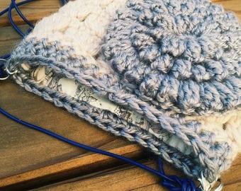 Crochet bodycross purse