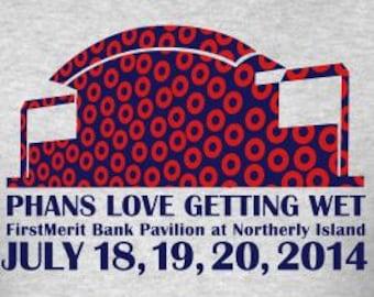 Phish 2014 Tour Northerly Island Lot Shirt | Men's