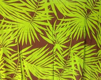 Palm Leaf Sarong.