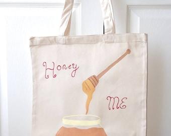 Honey me golden tote