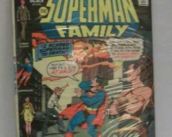 1976 Jimmy Olsen Presents The Superman Family Giant #179 Supergirl, Lois Lane, Superman,Jimmy Olsen Good-VG Condition Vintage Comic Book
