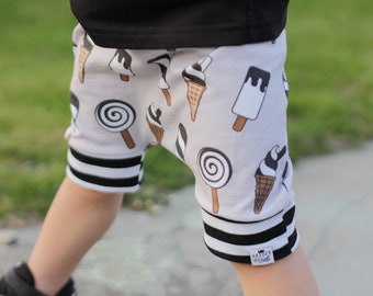 Baby + Toddler Ice Cream Harem Shorts