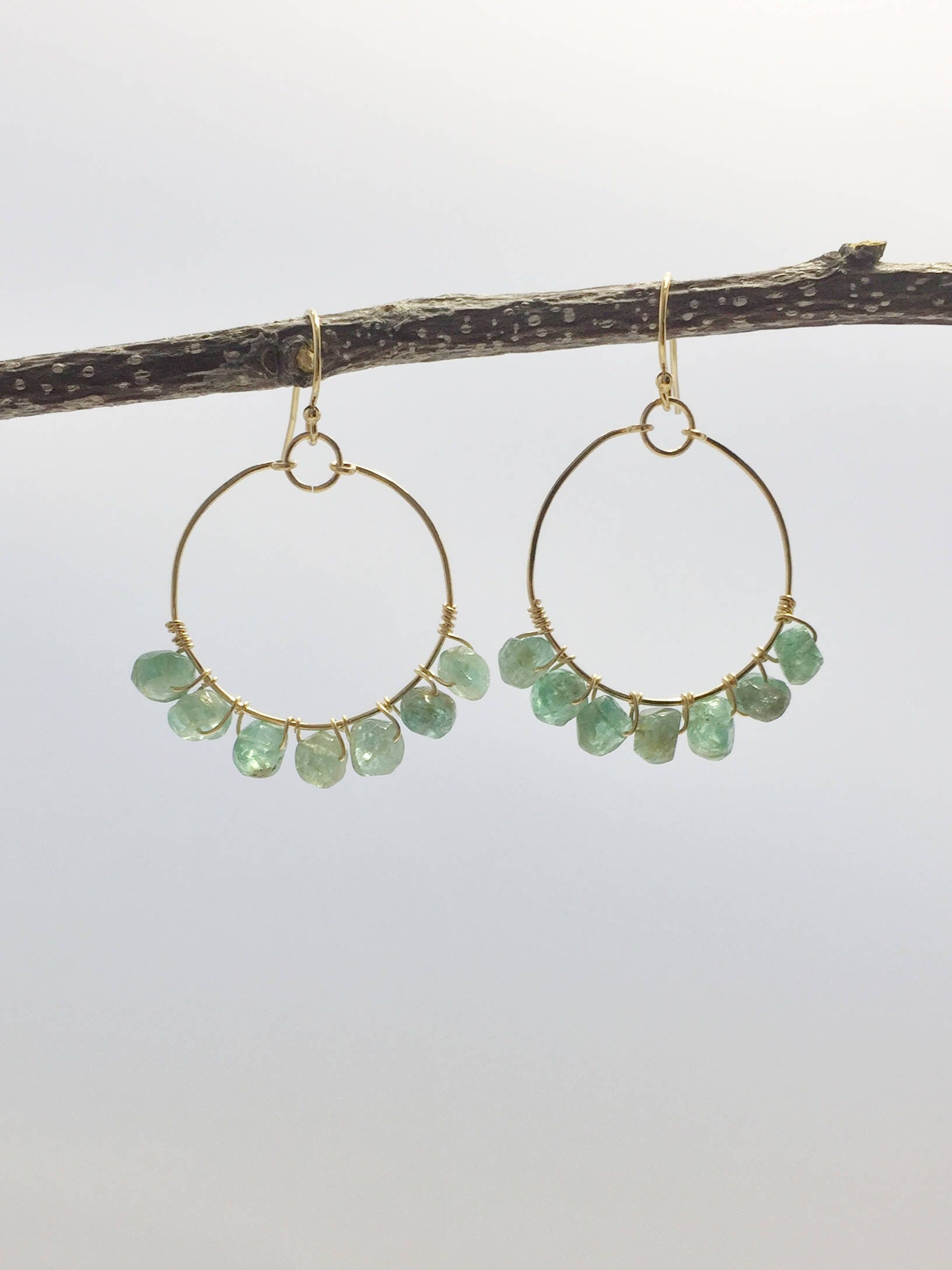 shop silver earrings sterling gemstone apatite handmade ladies