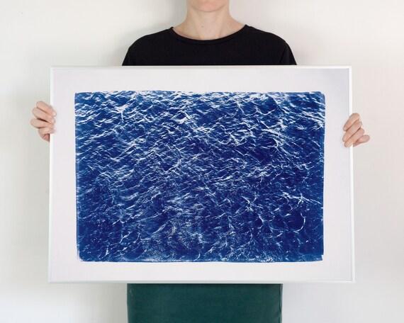 Wave Texture Seascape, 50x70 cm