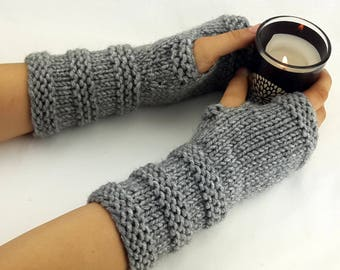 20 Colors Fingerless gloves - Arm warmers - Womens Fingerless - Chunky Gloves - Wrist warmers - Hand warmers |