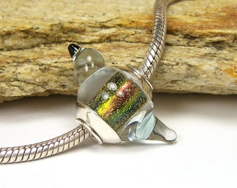 Lampwork Glass Charm Bead - Large Hole - BHB