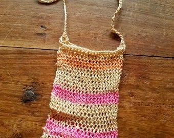 Handwoven Chacara Bag, Indigenous Art from Panama, Handwoven Sling Bags, Chacara Bags, Indigenous Art