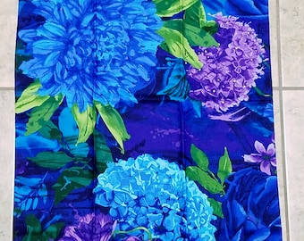 Flowered 3-Fabric PIllowcases - KIND SIZED