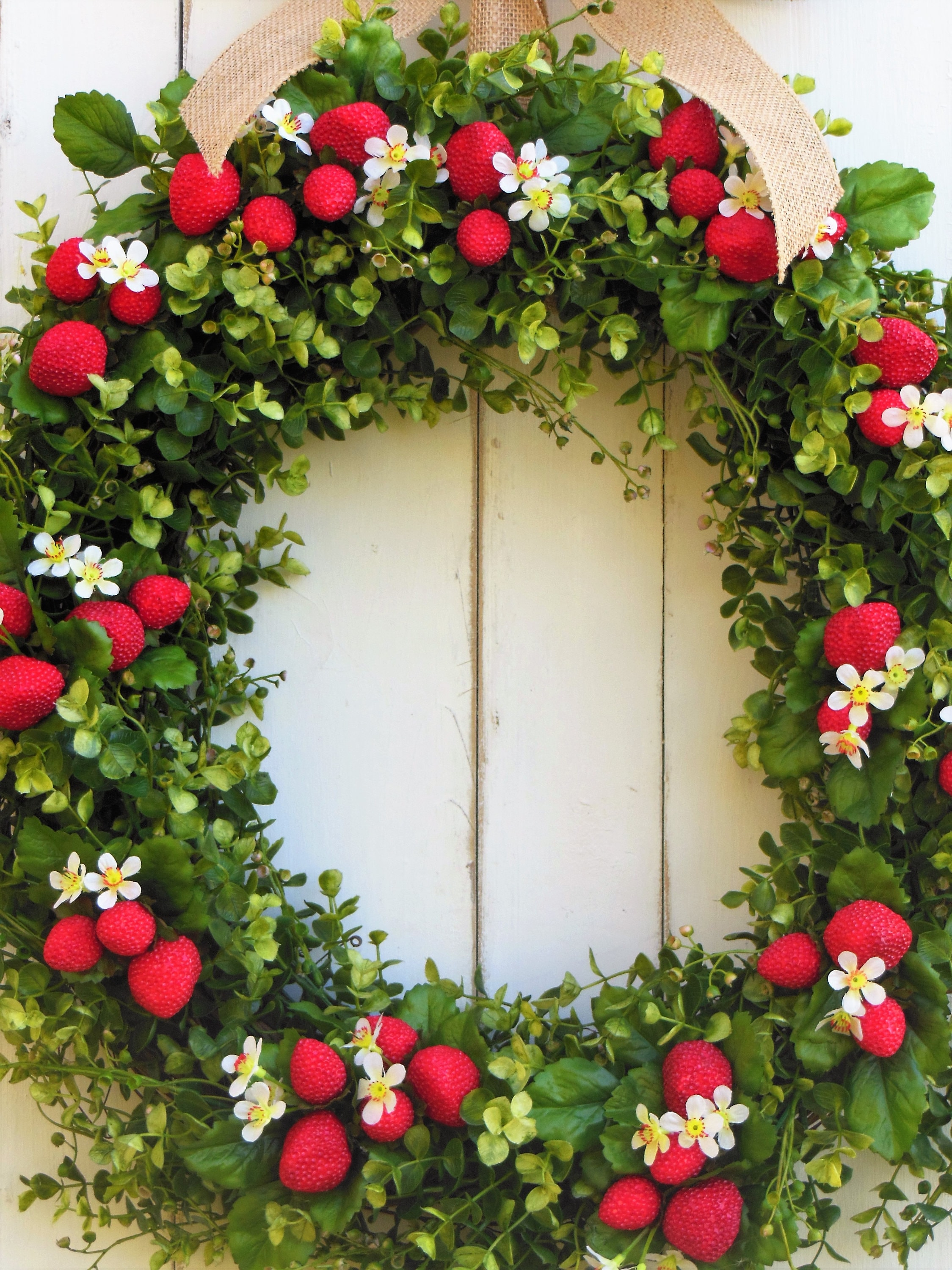 door less a your damaging wreaths how hang to than without wreath