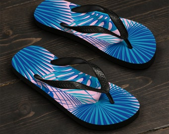 Tropical Flip Flops WomenS Flip Flops Beachwear Summer Wear WomenS Beach Sandals Beach Wear