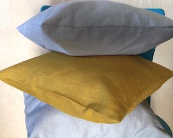 Linen Pillows, Throw Pillows, Pillow, Cushion Covers, Pillow Covers, Pillow Shams, Accent Pillow