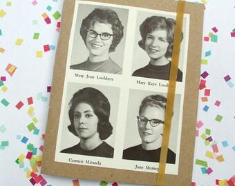 Little Book Vintage Yearbook Ladies