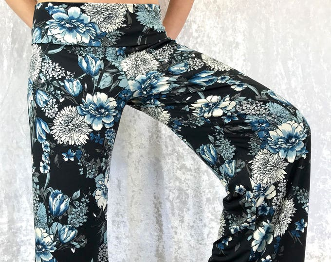 Blue Floral - Go With The Flow by So-Fine