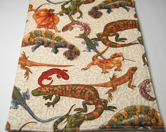 Lizards and reptiles journal cover