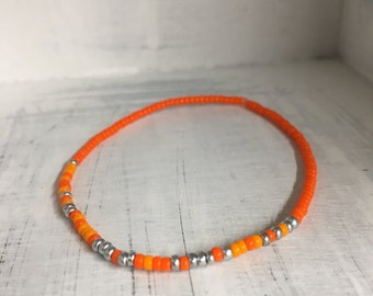 Be Awesome Today, Morse Code Stretchy Bead Bracelet - Pick your color