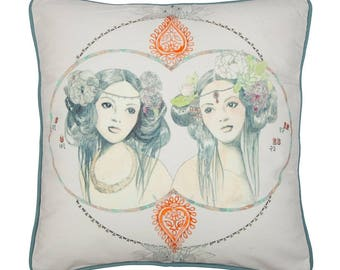 Gemini Zodiac Cushion