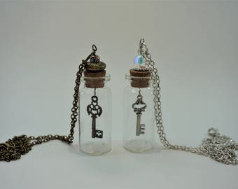 Key in a Jar Necklace