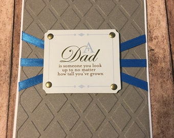 Simple Father's Day Card, Handmade Father's Day Card, Father's Day Card