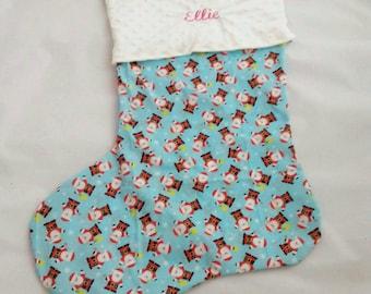 Personalised giant Christmas stocking, extra large stocking, kids stocking, traditional Christmas decoration, Christmas sack