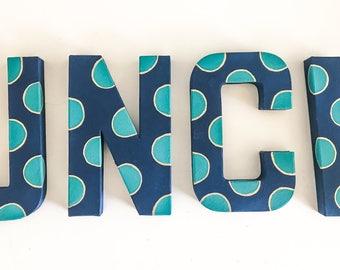 UNC Wilmington handpainted letters