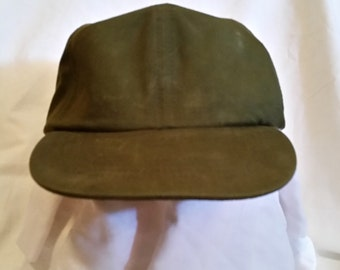 Military hat/vintage military hat/military gear/military clothing/military baseball cap/military cap/green base ball cap