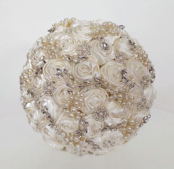 Wedding bouquet Artificial flowers Brooch bouquet Bridal
