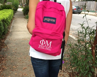Sorority Backpack by JanSport with Classic Bar Design