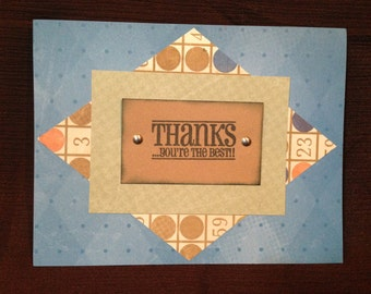 Thanks...You're the Best Card Set - set of 8