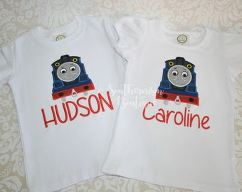 Train Birthday Shirt, Boys Birthday Shirt, Choo Choo Shirt, 1st Birthday, 2nd Birthday, 3rd Birthday Shirt, Personalized Train Shirt, outfit