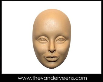 Mold No.196 (Face-Cheekbone with thick lips) by Veronica Jeong