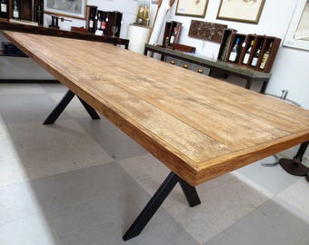 Reclaimed Rustic Farm Style Table