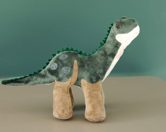 Baby Brontosaurus Custom Handmade Dinosaur Plush