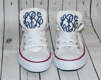 Monogrammed Chuck Taylor Classic Converse Shoes - Ladies & Men