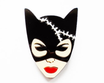 Cat Woman brooch