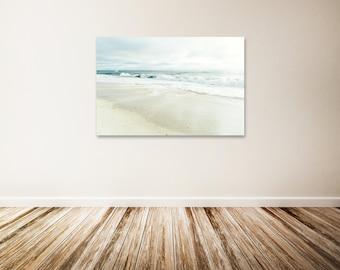 "Beach Canvas Art, Windansea Beach, San Diego Wall Decor, California Coastline, Ocean Art Print, Beach Photo - ""Windansea and Sea"""