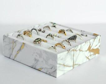 Adult craft kit, Make your own jewellery organiser, DIY craft kit, Jewellery display box