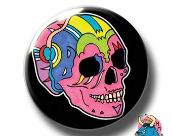 Black Skull Badge. Skull Pin. Skull Badge. Halloween Badge. Halloween Pin. Pin Badge. Pin Badges. Badges. Pin Badge. Button Badges. Pins.