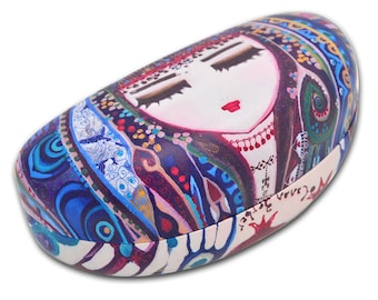 BiggDesign Mavi Su Glasses Case