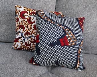 Deep blue cushion