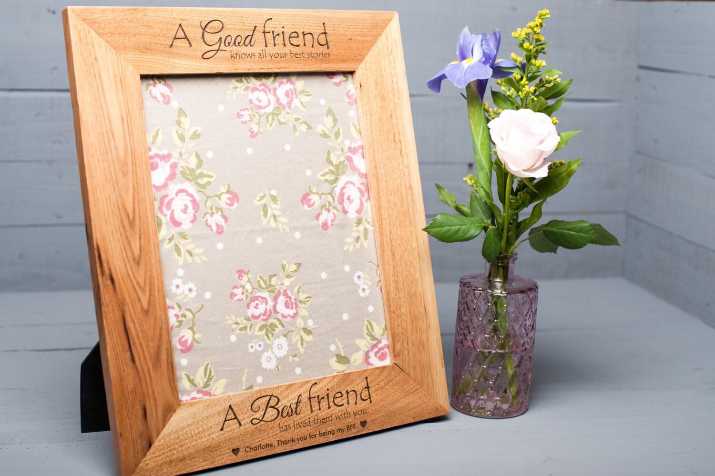 Personalisierte Bilderrahmen beste Freundin-Geschenk