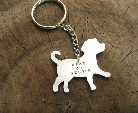 Mutt Keychain-Vegan Accessories-Spay or Neuter Dog Keychain- Labrador Retriever-Mixed Breed-Rescue Pet-Mother's Day-Customizable-Vegan Gift