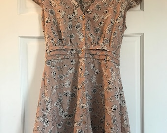 Pink Floral Daisy Dress Size 6