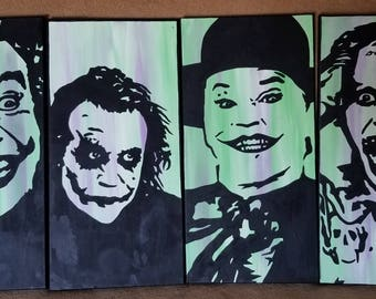 Four Jokers Painting