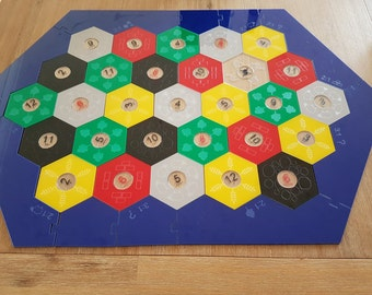 Acrylic settlers of catan board. Made to order.